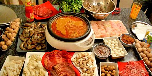 Fondue cantonaise azizen cuisine d 39 asie et recettes - Fondue vietnamienne cuisine asiatique ...