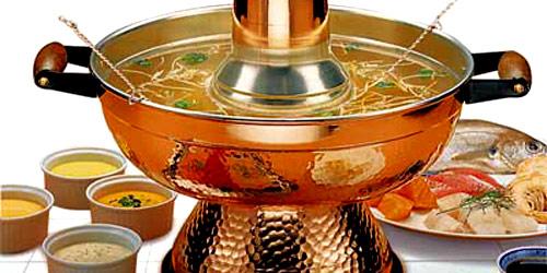 Fondue chinoise aux fruits de mer azizen cuisine d 39 asie - Fondue vietnamienne cuisine asiatique ...
